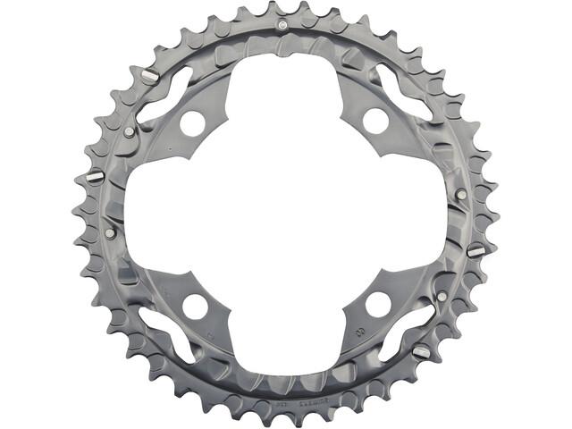 Shimano Deore FC-M590 Plateau 10 vitesses 42 dents, grey